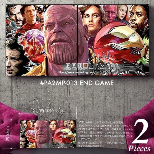 画像1: Avengers Endgame / アベンジャーズ / エンドゲーム [ポップアートパネル / Keetatat Sitthiket / Mサイズセット]