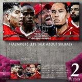 LETS TALK ABOUT SIX,BABY! / Liverpool FC / リヴァプールFC [ポップアートパネル / Keetatat Sitthiket / Mサイズセット]