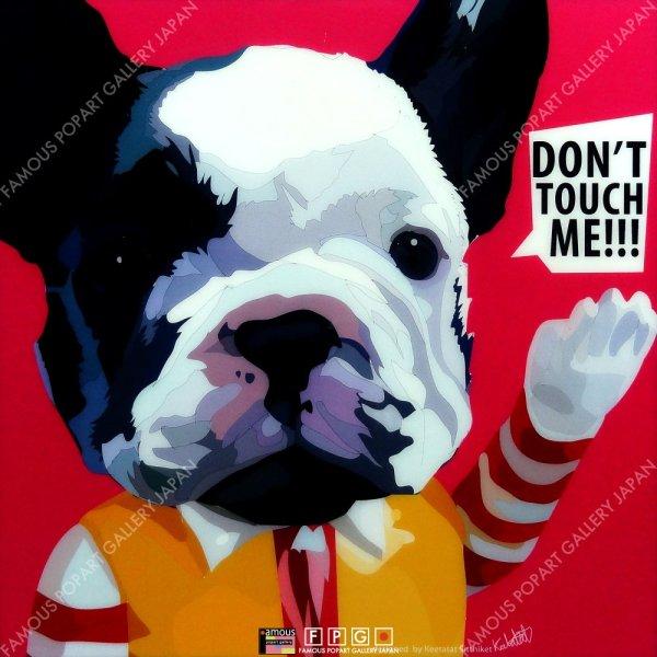画像2: DON'T TOUCH ME / ドッグ アート [ポップアートパネル / Keetatat Sitthiket / Sサイズ / Mサイズ]