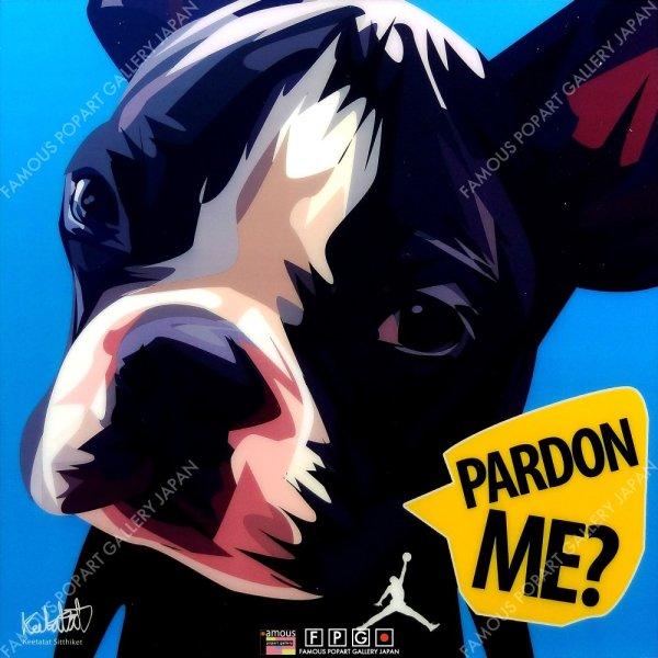 画像2: PARDON ME / フレンチ・ブルドッグ / ドッグ アート [ポップアートパネル / Keetatat Sitthiket / Sサイズ / Mサイズ]