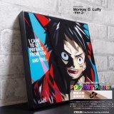 Monkey D. Luffy-Ver.2- / モンキー・ディー・ルフィ [ポップアートパネル / Keetatat Sitthiket / Sサイズ / Mサイズ]