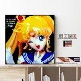 Sailor Moon / セーラームーン [ポップアートパネル / Keetatat Sitthiket / Sサイズ / Mサイズ]