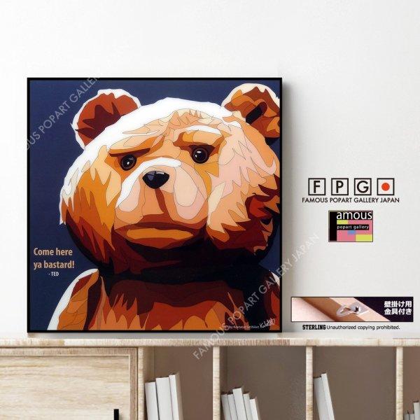 画像1: TED / テッド [ポップアートパネル / Keetatat Sitthiket / Sサイズ / Mサイズ]