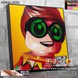 ROBIN LEGO / ロビンレゴ [ポップアートパネル / Keetatat Sitthiket / Sサイズ / Mサイズ]