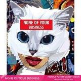NONE OF YOUR BUSINESS [ポップアートパネル / Keetatat Sitthiket / Sサイズ / Mサイズ]