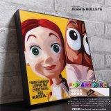 JESSI & BULLEYE / ジェシー&ブルズアイ [ポップアートパネル / Keetatat Sitthiket / Sサイズ / Mサイズ]