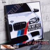 BMW / ビーエムダブリュー [ポップアートパネル / Keetatat Sitthiket / Sサイズ / Mサイズ]