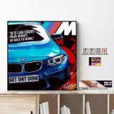 BMW M2 / ビーエムダブリュー [ポップアートパネル / Keetatat Sitthiket / Sサイズ / Mサイズ]