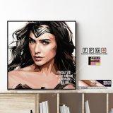Wonder Woman / ワンダーウーマン [ポップアートパネル / Keetatat Sitthiket / Sサイズ / Mサイズ]