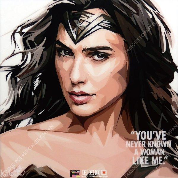 画像2: Wonder Woman / ワンダーウーマン [ポップアートパネル / Keetatat Sitthiket / Sサイズ / Mサイズ]
