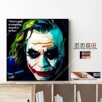 Joker / ジョーカー [ポップアートパネル / Keetatat Sitthiket / Sサイズ / Mサイズ]