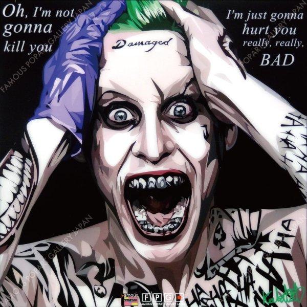 画像2: Joker2 / ジョーカー2 [ポップアートパネル / Keetatat Sitthiket / Sサイズ / Mサイズ]
