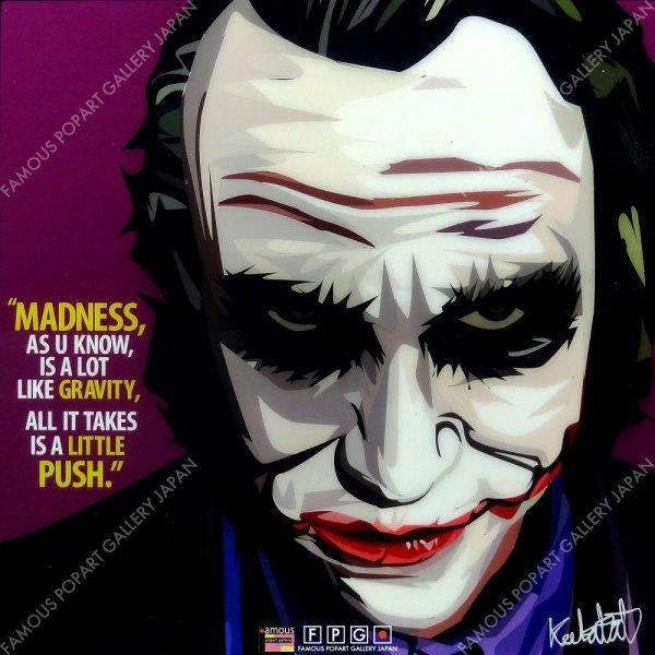 画像2: Joker3 / ジョーカー3 [ポップアートパネル / Keetatat Sitthiket / Sサイズ / Mサイズ]