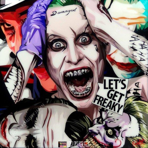 画像2: Joker(MIX) / ジョーカー [ポップアートパネル / Keetatat Sitthiket / Sサイズ / Mサイズ]