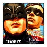 BATMAN & ROBIN / バットマン&ロビン [ポップアートパネル / Keetatat Sitthiket / Sサイズ / Mサイズ]