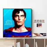 SUPERMAN Ver.1 / スーパーマン [ポップアートパネル / Keetatat Sitthiket / Sサイズ / Mサイズ]