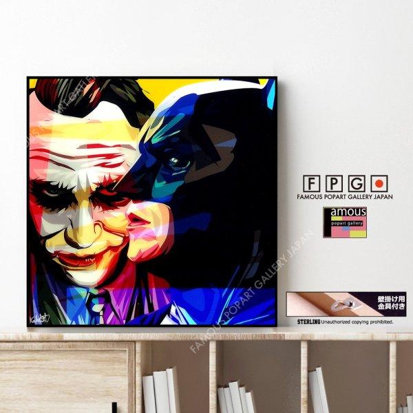 画像1: BATMAN & JOKER  Ver.1 / バットマン & ジョーカー [ポップアートパネル / Keetatat Sitthiket / Sサイズ / Mサイズ]