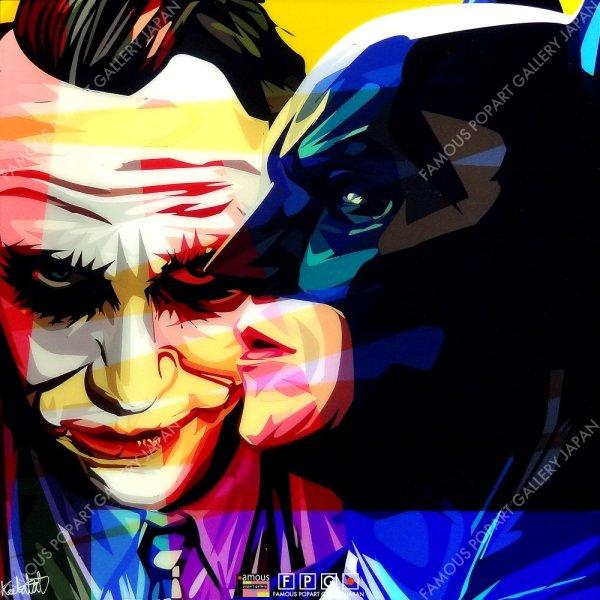 画像2: BATMAN & JOKER  Ver.1 / バットマン & ジョーカー [ポップアートパネル / Keetatat Sitthiket / Sサイズ / Mサイズ]