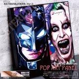 BATMAN & JOKER VER2 / バットマン&ジョーカー [ポップアートパネル / Keetatat Sitthiket / Sサイズ / Mサイズ]