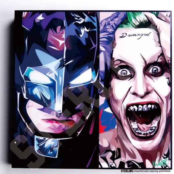 画像2: BATMAN & JOKER VER2 / バットマン&ジョーカー [ポップアートパネル / Keetatat Sitthiket / Sサイズ / Mサイズ]