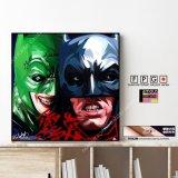BATMAN & JOKER VER3 / バットマン&ジョーカー [ポップアートパネル / Keetatat Sitthiket / Sサイズ / Mサイズ]