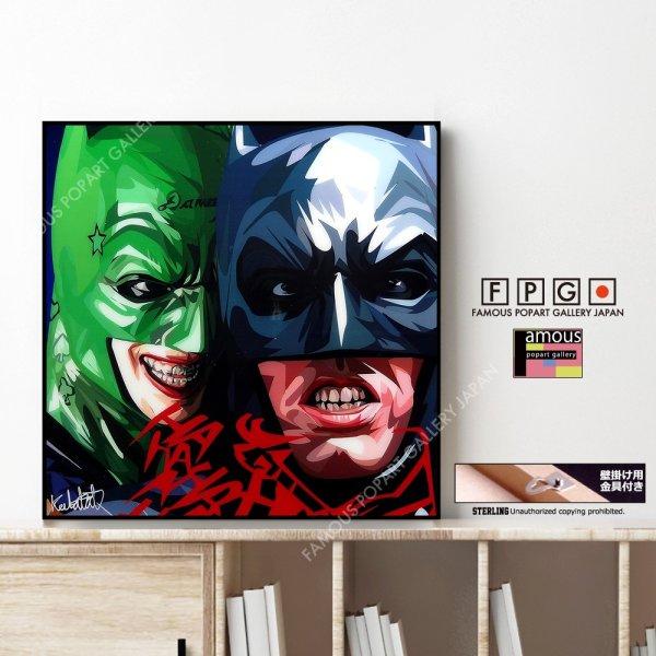 画像1: BATMAN & JOKER VER3 / バットマン&ジョーカー [ポップアートパネル / Keetatat Sitthiket / Sサイズ / Mサイズ]