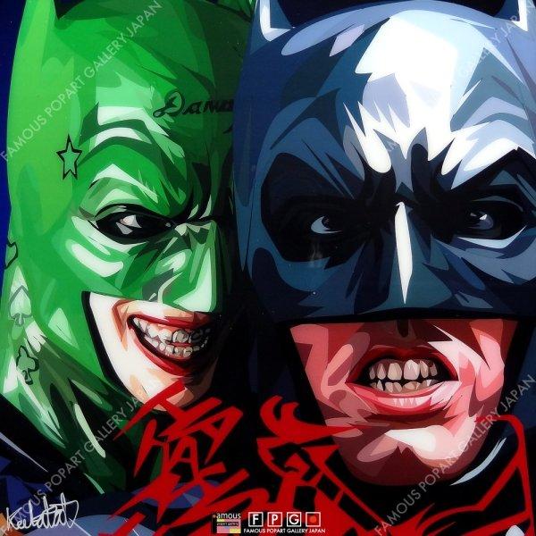 画像2: BATMAN & JOKER VER3 / バットマン&ジョーカー [ポップアートパネル / Keetatat Sitthiket / Sサイズ / Mサイズ]