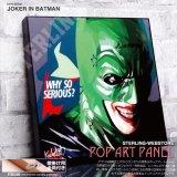 JOKER IN BATMAN / ジョーカー イン バットマン [ポップアートパネル / Keetatat Sitthiket / Sサイズ / Mサイズ]