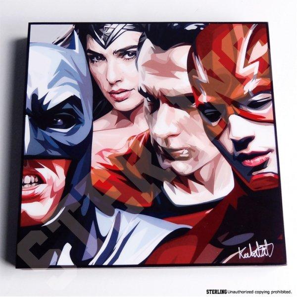画像2: Justice League / ジャスティスリーグ [ポップアートパネル / Keetatat Sitthiket / Sサイズ / Mサイズ]