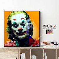 THE JOKER -Ver.8- / ジョーカー [ポップアートパネル / Keetatat Sitthiket / Sサイズ / Mサイズ]