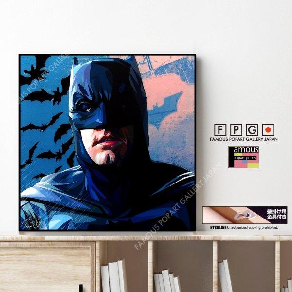 画像1: BATMAN / バットマン [ポップアートパネル / Keetatat Sitthiket / Sサイズ / Mサイズ]