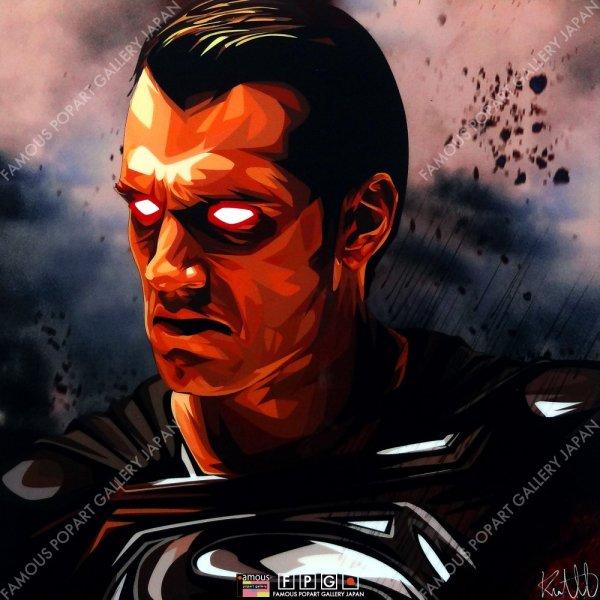 画像2: SUPERMAN -BLACK SUIT- / スーパーマン [ポップアートパネル / Keetatat Sitthiket / Sサイズ / Mサイズ]