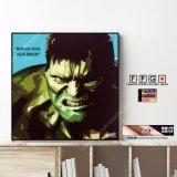 Hulk / ハルク [ポップアートパネル / Keetatat Sitthiket / Sサイズ / Mサイズ]