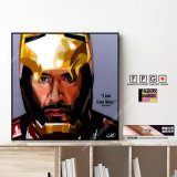 Iron Man / アイアンマン [ポップアートパネル / Keetatat Sitthiket / Sサイズ / Mサイズ]