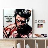 Wolverine / ウルヴァリン [ポップアートパネル / Keetatat Sitthiket / Sサイズ / Mサイズ]