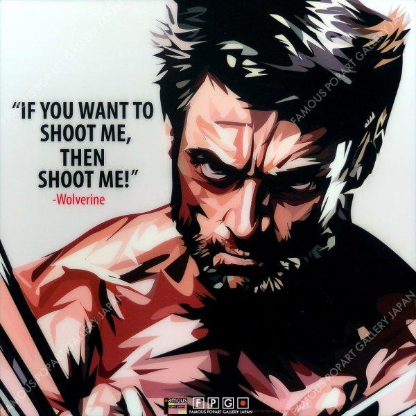 画像2: Wolverine / ウルヴァリン [ポップアートパネル / Keetatat Sitthiket / Sサイズ / Mサイズ]
