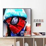 SLEEPING SPIDERMAN / スリーピングスパイダーマン [ポップアートパネル / Keetatat Sitthiket / Sサイズ / Mサイズ]