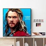Thor -Ver.2- / ソー [ポップアートパネル / Keetatat Sitthiket / Sサイズ / Mサイズ]