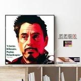 TONY STARK -VER2- / トニー・スターク / アイアンマン [ポップアートパネル / Keetatat Sitthiket / Sサイズ / Mサイズ]