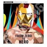 IRONMAN ZERO TO HERO / アイアンマン [ポップアートパネル / Keetatat Sitthiket / Sサイズ / Mサイズ]