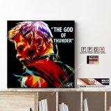 THOR -GOD THUNDER- / ソー [ポップアートパネル / Keetatat Sitthiket / Sサイズ / Mサイズ]