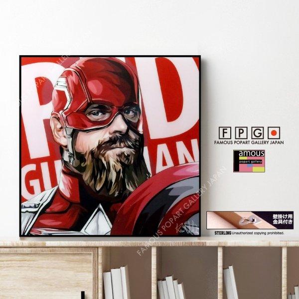 画像1: RED GUARDIAN / レッドガーディアン [ポップアートパネル / Keetatat Sitthiket / Sサイズ / Mサイズ]