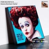 Helena Bonham Carter / ヘレナ・ボナム=カーター [ポップアートパネル / Keetatat Sitthiket / Sサイズ / Mサイズ]