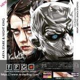 ARYA STARK&NIGHT KING / アリア・スターク&ナイトキング [ポップアートパネル / Keetatat Sitthiket / Sサイズ / Mサイズ]