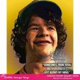 Dustin -Stranger Things- / ダスティン -ストレンジャー シングス- [ポップアートパネル / Keetatat Sitthiket / Sサイズ / Mサイズ]