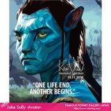 Jake Sully -Avatar- / ジェイク・サリー [ポップアートパネル / Keetatat Sitthiket / Sサイズ / Mサイズ]