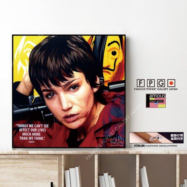 画像1: TOKYO -Money Heist- / トーキョー -ペーパー ハウス- [ポップアートパネル / Keetatat Sitthiket / Sサイズ / Mサイズ]