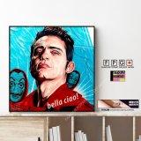 BERLIN -Money Heist- / ベルリン -ペーパー ハウス- [ポップアートパネル / Keetatat Sitthiket / Sサイズ / Mサイズ]
