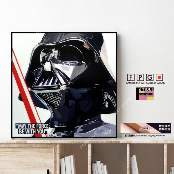 画像1: Darth Vader / ダースベイダー [ポップアートパネル / Keetatat Sitthiket / Sサイズ / Mサイズ]