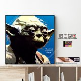 Master Yoda / マスター ヨーダ [ポップアートパネル / Keetatat Sitthiket / Sサイズ / Mサイズ]